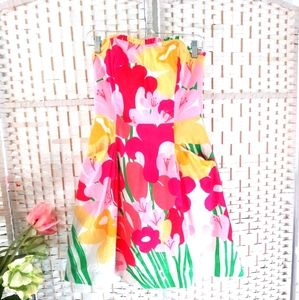Lilly Pulitzer Lavish Lilly Blossom Dress Sz 2